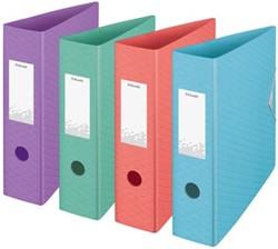 Esselte ordner Colour'Ice A4, uit polyfoam, rug van 7,5 cm, geassorteerde kleuren