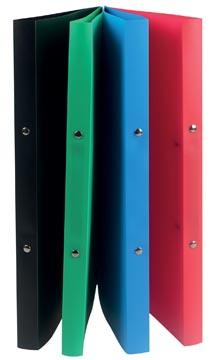 Class'ex ringband plastic A4 formaat in geassorteerde kleuren met 2 ringen
