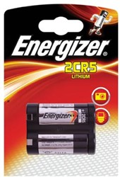 Energizer batterijen Photo Lithium 6V, 2CR5