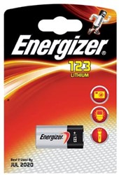 Energizer batterijen Photo Lithium 3V, CR17345
