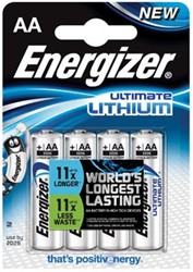 Energizer batterijen Ultimate Lithium L91, 1,5 V