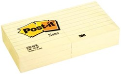 Post-it Notes gelijnd 76 x 76 mm