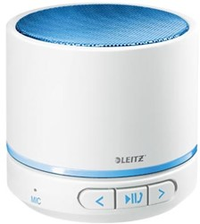 Leitz WOW mini bluetooth luidspreker, wit / blauw