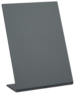 Krijtbord tafel L-vormig A6 3 stuks