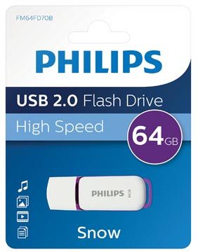 Philips Snow USB 2.0 stick, 64 GB