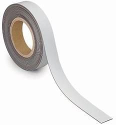 Maul magnetische etiketband, wisbaar, ft 10 m x 30 mm x 1 mm