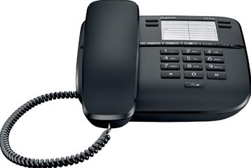 Gigaset DA310 vaste telefoon zwart