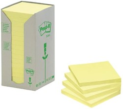 Post-it Notes gerecycled 38 x 51 mm regenboog