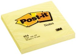 Post-it notes 654 76 x 76 mm