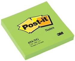 Post-it Neon Notes  76 x 76 mm groen