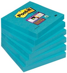 Post-it Super Sticky Notes  electric blue 76 x 76 mm
