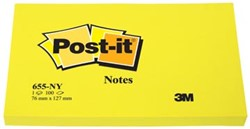 Post-it Neon Notes  76 x 127 mm geel
