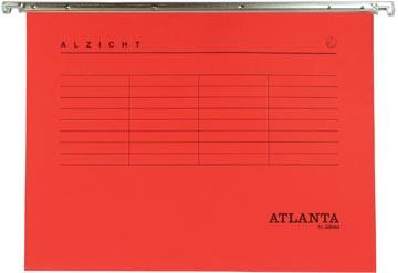 Atlanta hangmappen Alzicht Spectrum ft A4, V-bodem, rood