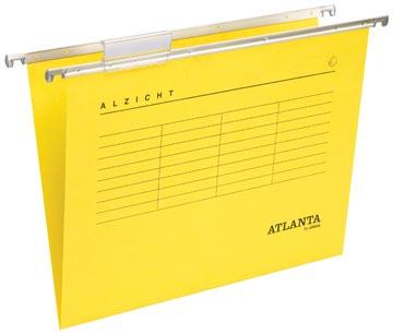 Atlanta hangmappen Alzicht Spectrum ft folio, V-bodem, geel