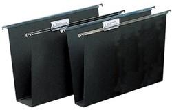 Atlanta hangmappen voor laden Alzicht Hardboard ft folio, bodem 40 mm
