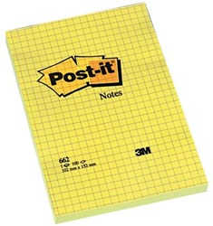 Post-it Notes geruit 105 x 152 mm