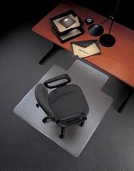 Bureaustoelmat 90x120cm voor tapijt vloeren met uitsparing