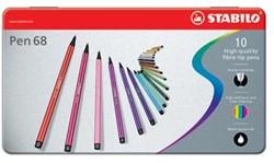 Stabilo Viltstift Pen 68 10 stiften