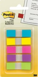 Post-it Index Smal geassorteerde kleuren, 3 + 2 tabs gratis
