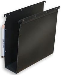 L'Oblique hangmappen voor kasten Ultimate® bodem 80 mm, zwart