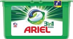 Ariel 3 in 1 wasmiddel pods Regular, doos van 36 stuks