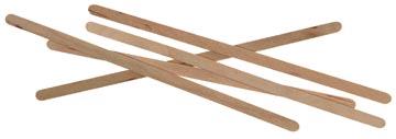 Huhtamaki houten roerstaafje 14 cm 1000 stuks