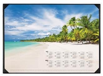 "Durable schrijfonderlegger ""Tropical Beach"" met kalender 2019-2020"