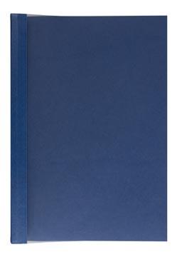 Leitz impressBIND soepele omslag, 14 mm, blauw, pak van 10 stuks