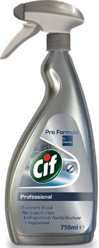 Cif inox cleaner