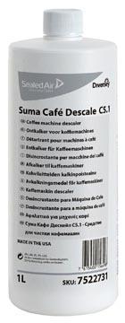Diversey ontkalker voor koffiemachines Suma, flacon van 1 liter