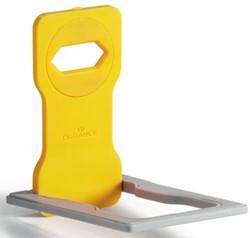Durable Varicolor smartphone houder, 5 stuks, geel