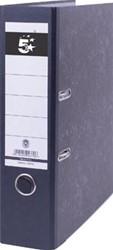 Budget ordner gewolkt 8cm rug zwart