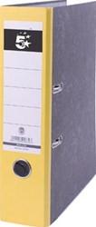 Budget ordner gewolkt 8cm rug geel
