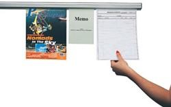 Tekening ophangsysteem 120cm Jalema Grip-a-Strip
