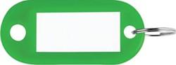 Sleutelhanger groen, doos van 100 stuks