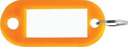 Sleutelhanger oranje, doos van 100 stuks
