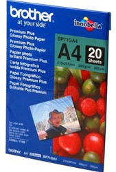 Brother photopaper A4 glossy 20sheets 260gr glossy