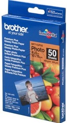 Brother photopaper 10x15cm glossy 50shts 260gr premium plus glossy
