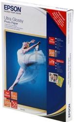 C13S041944 EPSON FOTOPAPIER 13x18cm 50sheets 300g ultra high glossy