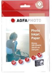 Agfa Fotopapier inkjet 10x15cm 210gr(100) 10x15cm 100Bl 210g SuperCast-beschichtet