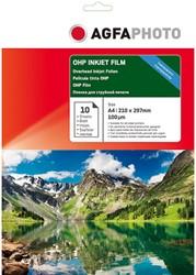 AP10A4OHPINK AP INKJET FILM A4 10sheets 100µm OHP cardboard box