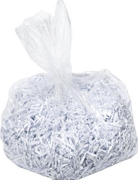 Leitz IQ plastic opvangzakken voor Office Pro 600, pak van 20 stuks