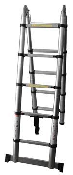 Telescopische ladder dubbel 3,2 meter