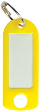 Sleutelhanger geel