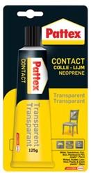 Pattex Contactlijm Transparant tube van 125 g
