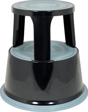 Pavo rolkruk metaal zwart