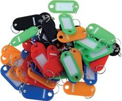 Pavo sleutelhangers, geassorteerde kleuren, pak van 20 stuks