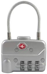 Pavo TSA combinatie slot met kabel