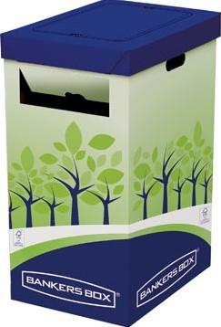 Bankers Box Hoge prullenbak FSC gecertificeerd karton