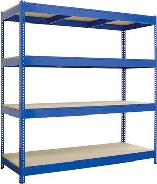 Stellingkast voor zwaar gebruik 180x182x60cm bij pro office - Rack de stockage brico depot ...